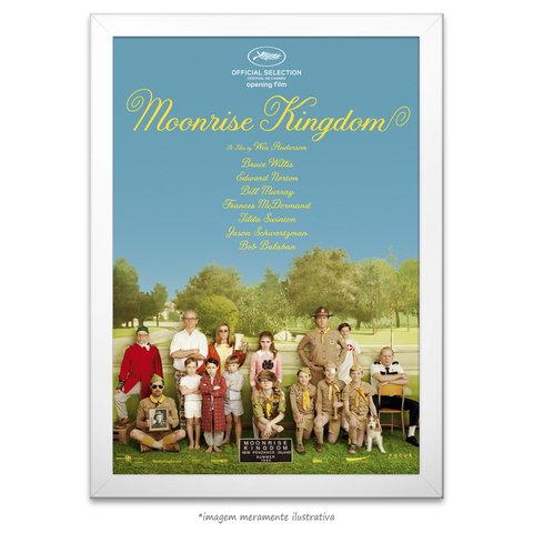 Poster Moonrise Kingdom - comprar online