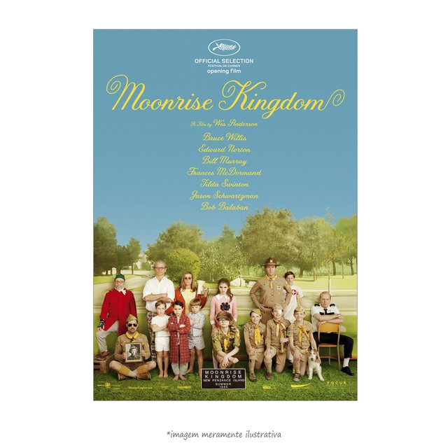 Poster Moonrise Kingdom - QueroPosters.com