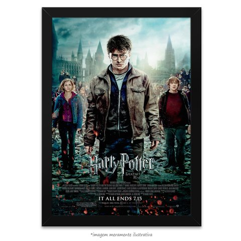 Poster Harry Potter e as Relíquias da Morte: Parte 2 - comprar online