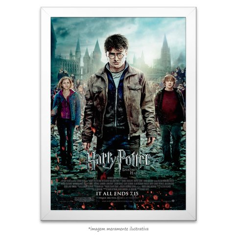 Poster Harry Potter e as Relíquias da Morte: Parte 2 na internet