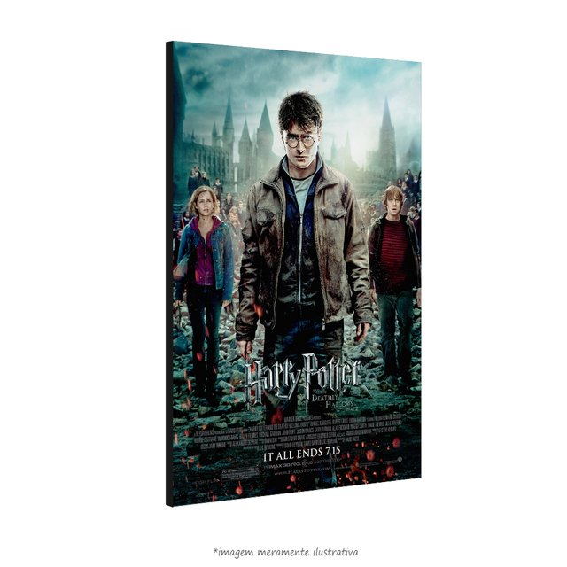 Poster Harry Potter e as Relíquias da Morte: Parte 2 - QueroPosters.com