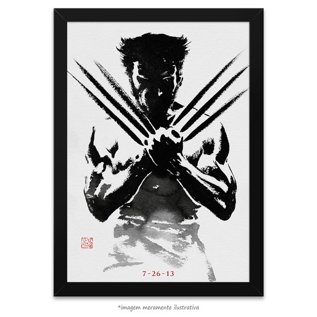 Poster Wolverine - Imortal