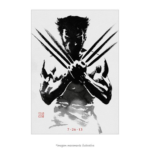 Poster Wolverine - Imortal - QueroPosters.com