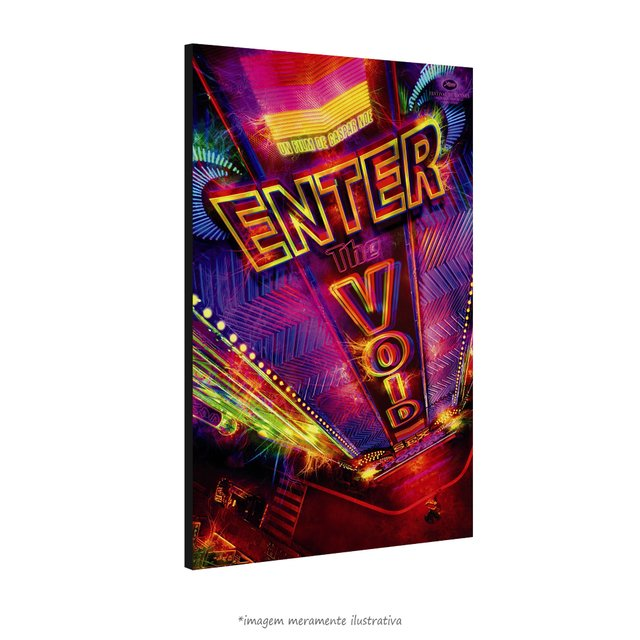 Poster Enter the Void - Viagem Alucinante na internet