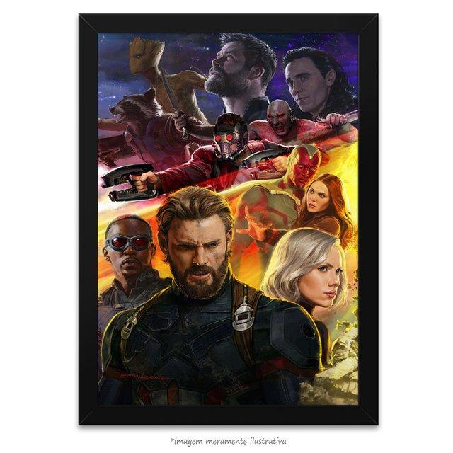 a870009f2 Poster Vingadores - Guerra Infinita - quadro 1 de 3