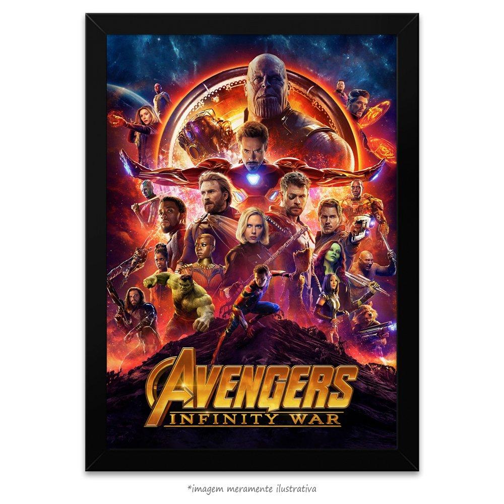 c904c7dd4d2 Poster Vingadores - Guerra Infinita