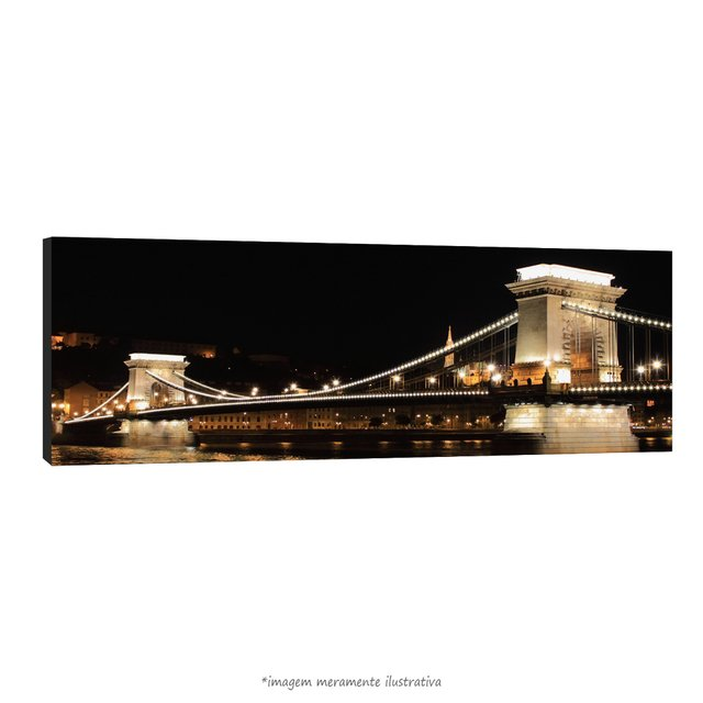 Poster Hungary - Chain Bridge - Budapest na internet