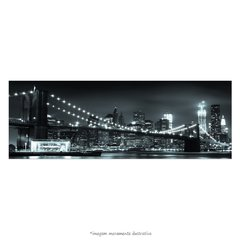 Poster Ponte do Brooklyn - Horizonte de Manhattan à noite