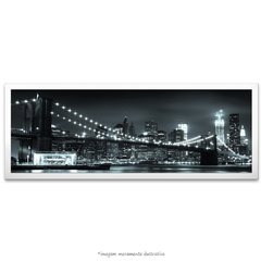 Poster Ponte do Brooklyn - Horizonte de Manhattan à noite na internet