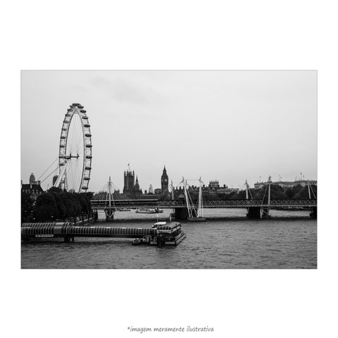 Poster London Eye - Roda-Gigante