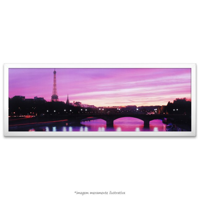 Poster Sunset Eiffel Tower - comprar online