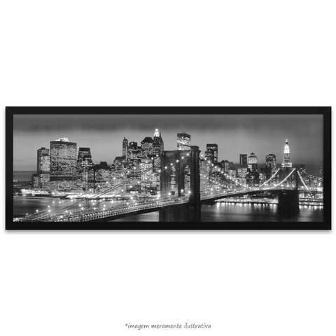 Poster Ponte do Brooklyn - comprar online
