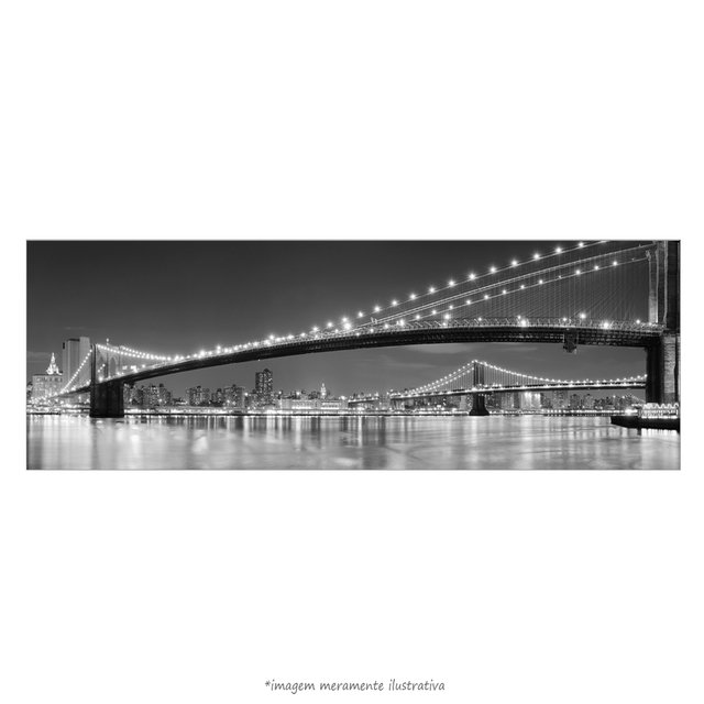 Poster Nova Iorque - Ponte do Brooklyn