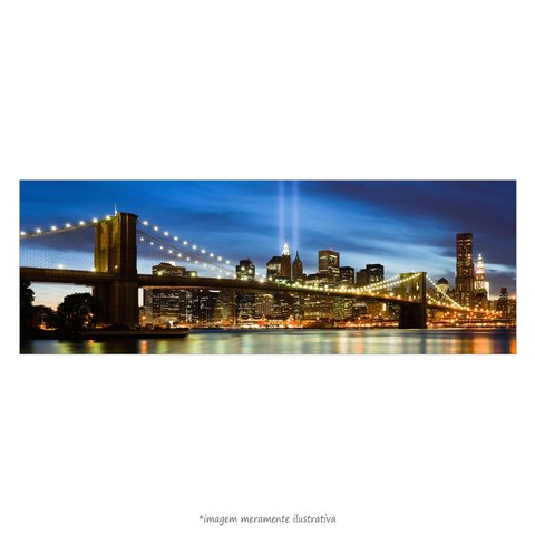 Poster Ponte do Brooklyn - New York