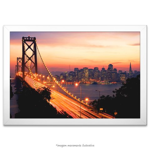 Poster Ponte Golden Gate na internet