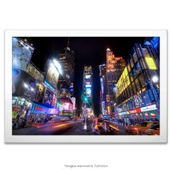 Poster Times Square, Noite - comprar online
