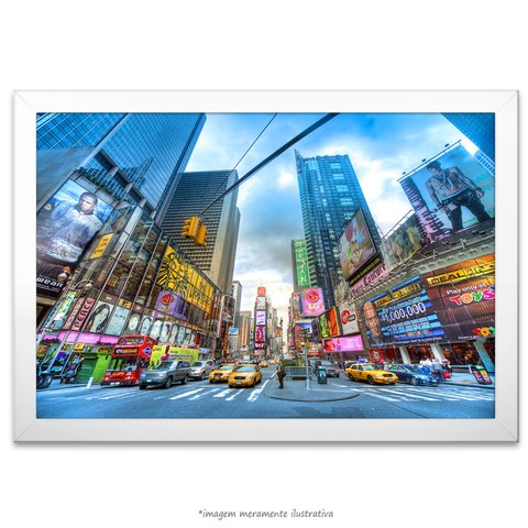 Poster Times Square, Dia - comprar online