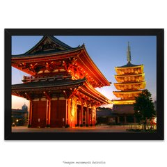 Poster Japão - Pagoda of The Senso-Ji