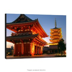 Poster Japão - Pagoda of The Senso-Ji na internet
