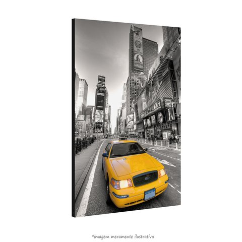 Poster Taxi Amarelo - Times Square na internet
