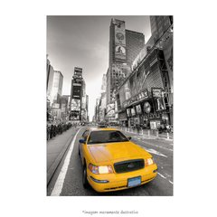 Poster Taxi Amarelo - Times Square - QueroPosters.com