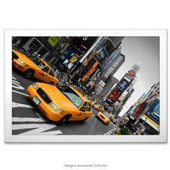 Poster Yellow Taxi - Times Square - comprar online