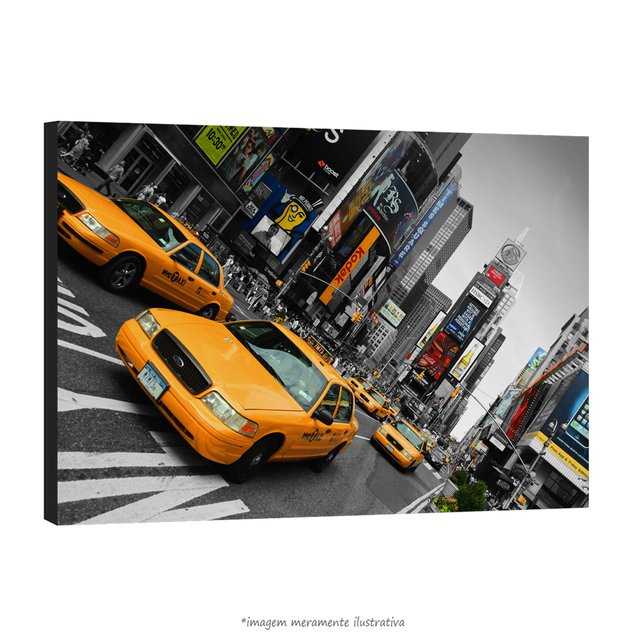 Poster Yellow Taxi - Times Square na internet