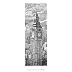 Poster Big Ben - Londres - Vertical
