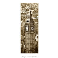 Poster Big Ben - Londres- vs Sépia