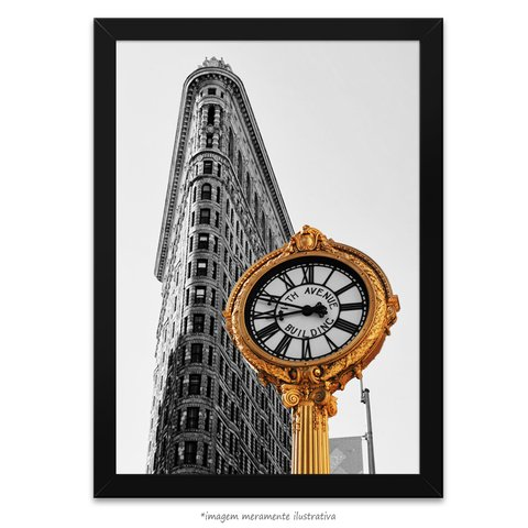Poster The Flatiron Building - New York