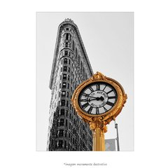 Poster The Flatiron Building - New York - QueroPosters.com