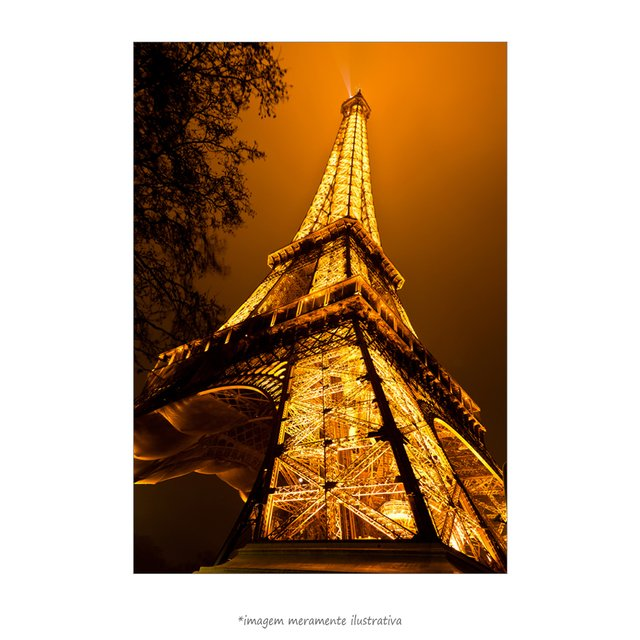 Poster Torre Eiffel - QueroPosters.com