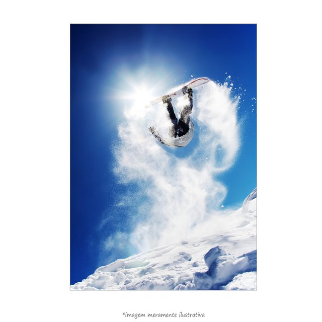 Poster Snowboarder - QueroPosters.com
