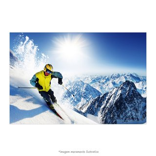 Poster Skier - QueroPosters.com
