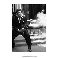 Poster Al Pacino - Scarface - QueroPosters.com