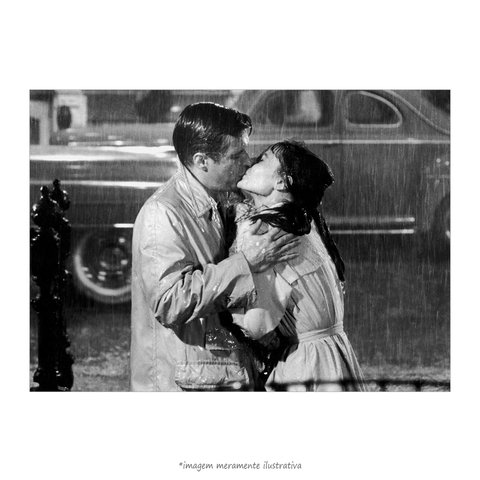 Poster Audrey Hepburn e George Peppard