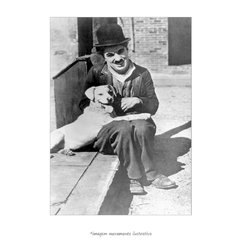 Poster Charlie Chaplin - QueroPosters.com