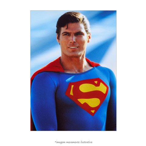 Poster Christopher Reeve - Superman