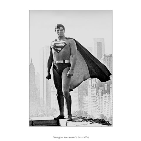 Poster Christopher Reeve - Superman: O Filme