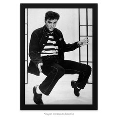 Poster Elvis Presley - Prisioneiro do Rock