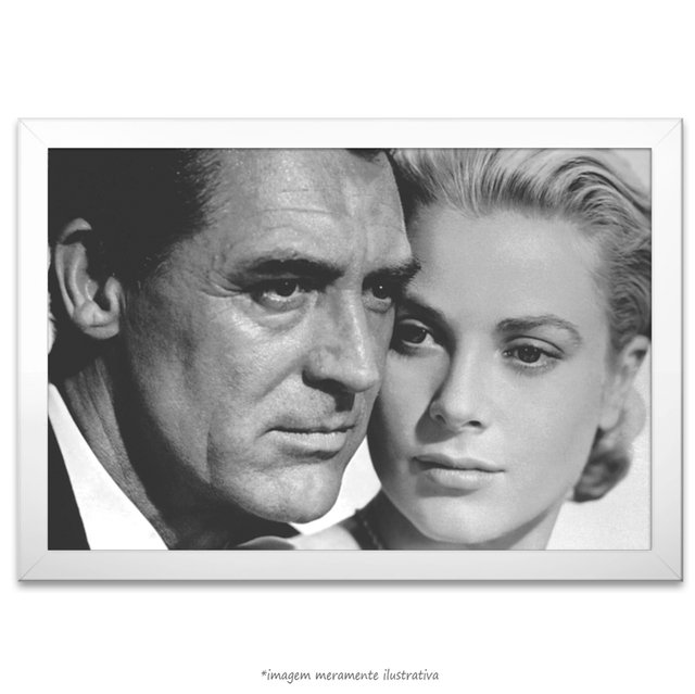 Poster Grace Kelly e Cary Grant na internet