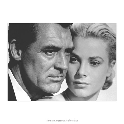 Poster Grace Kelly e Cary Grant