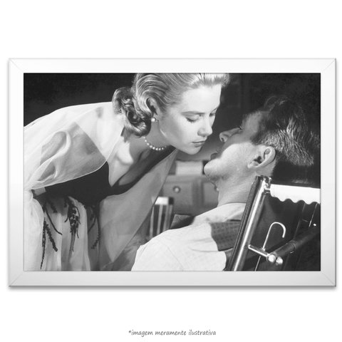 Poster Grace Kelly e James Stewart - comprar online