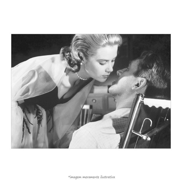 Poster Grace Kelly e James Stewart - QueroPosters.com