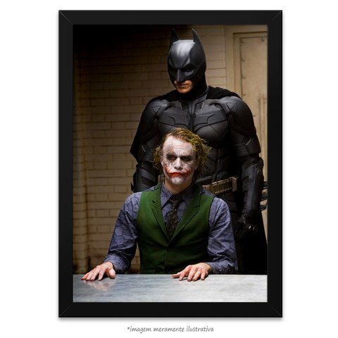 Poster Heath Ledger e Christian Bale