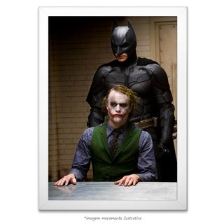 Poster Heath Ledger e Christian Bale - comprar online
