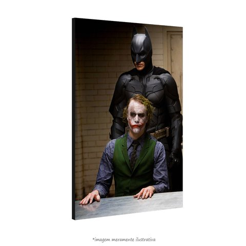 Poster Heath Ledger e Christian Bale na internet