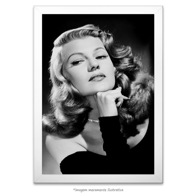 Poster Rita Hayworth na internet