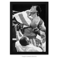 Poster Sylvester Stallone - Rocky