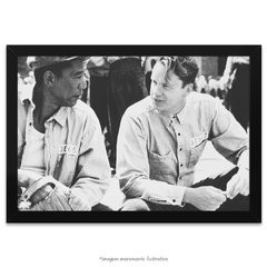 Poster Tim Robbins e Morgan Freeman
